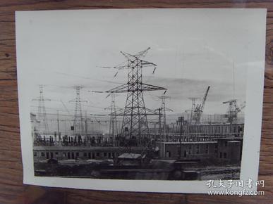老照片:【※ 1982年,湖北宜昌葛洲坝水利枢纽二江电站※】