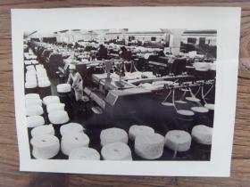 老照片:【※ 1982年,辽宁鞍山化纤纺织厂 ※】