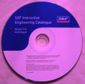 SKF Interactive Engineering Catalogue(Version5 Multilingual)(光盘)