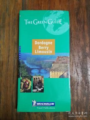 Michelin the Green Guide Dordogne Berry Limousin 【彩印插图繁多】