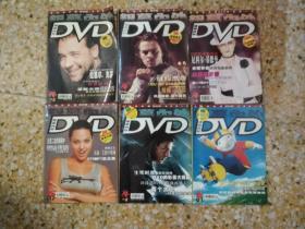 银幕内外DVD(4,5,7,8,9,14.6本合售)