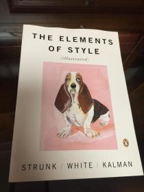 The Elements of Style Illustrated by William Strunk Jr. and E.B. White - 斯特伦克/怀特 《文体的要素》Maira Kalman 插图