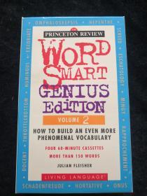 磁带】Word Smart Genius Edition Volume 2(原版英语磁带4盒 有外盒)