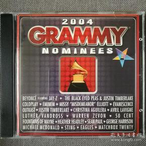 2004 GRAMMY Nominees-艺人:欧美群星-格莱美的喝彩2004-美版正版CD