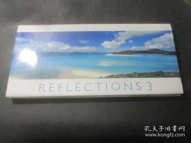REFLECTIONS 3  INSPIRING AUSTRALIAN IMAGES BU KEN DUNCAN & LEO MEIER 横大8开 精装  摄影画册 以图为准