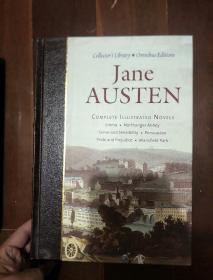 英文原版----Jane Austen(16开精装,上边书口烫金,插图本