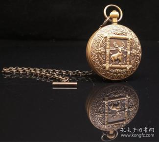 纯铜机械怀表(走时精准,长期有货),重164g代理转图可以加价,运费自理。