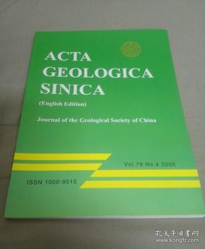 ACTA GEOLOGICA SINICA地质学报英文版