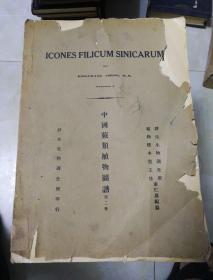 中国蕨类植物图谱,第二卷