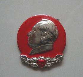 毛主席像章【旅大市革命委员会成立纪念1968】