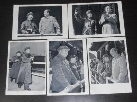 毛主席、林彪画片共11张合售(32开,尺寸:18.5*12.5公分)