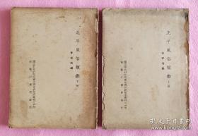 低价出《北平风俗类征》上下一套全十六开本,民国28年出版