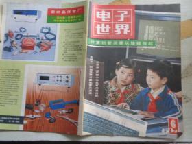 电子世界  1984  6