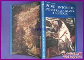 FRANCESCO VALCANOVER JACOPO TINTORETTO AND THE SCUOLA GRANDE OF SAN ROCCO 中英文双签 铜版纸