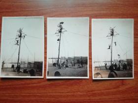 民国照片:马戏(3张合售)见图