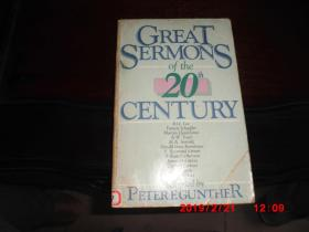 GREAT SERMONS OF THE 20TH CENTURY