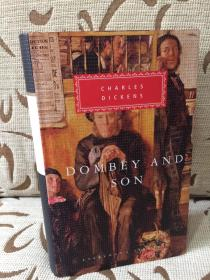 Dombey and son by Charles Dickens - 狄更斯 《董贝父子》人人文库 精装本
