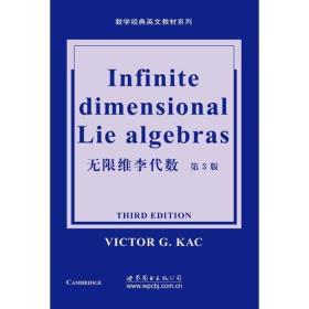 无限维李代数(第三版)