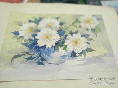 方润秋先生五至60年代水彩画之五
