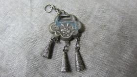 老百岁银锁