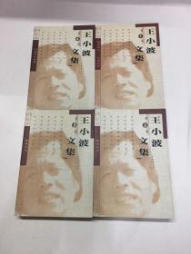 王小波文集(全4卷)99年一版一印(正版如图、内页干净)包邮