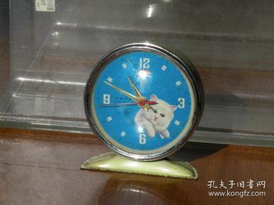 780年代 猫咪图案钟表 老钟表收藏