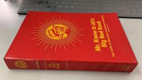 Mr. Know-lt-Alls Big Red Book