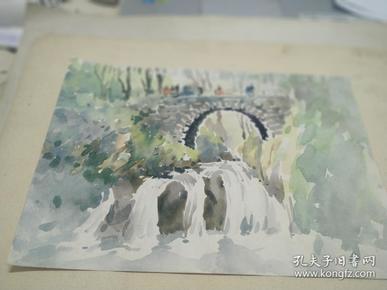 方润秋先生五至60年代水彩画之十五