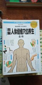 图解人体经络穴位养生全书 全彩图解典藏版 正版