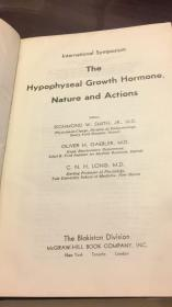 the hypophyseal growth hormone nature and actions垂体生长激素的性质和作用