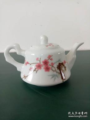 手把壶·梅花手把壶·中南海珍品茶壶·陶瓷研究所1962年