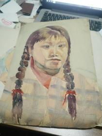 方润秋先生五至60年代水彩画之二十一
