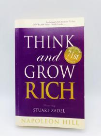 Think and Grow Rich 英文原版-《思考致富》