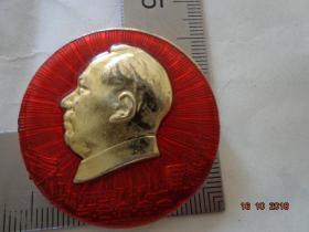 毛主席视察煤都十周年纪念像章