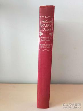 Andersens Fairy Tales 安徒生童话 Hans Christian Andersen  1942 the heritage press 布面精装