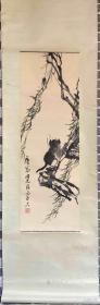 王小古   国画       纯手绘     工艺品