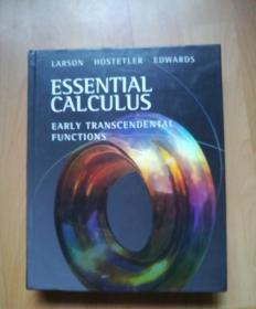 Essential Calculus: Early Transcendental Functions (Available 2010 Titles Enhanced Web Assign)基本演算:早期超越功能(可提供2010年标题增强型网络分配))