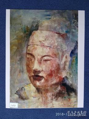 水粉画参赛作品签名照片《南海之声》作者:邓正阀