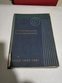 LANDESTHEATER SACHSEN-ANHALT:剧场的艺术(外文)
