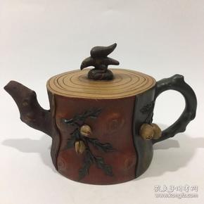 蒋蓉寿桃紫砂壶