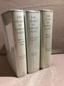 The Diary of Samuel Pepys锛堛�婄毊鏅柉鏃ヨ鍏ㄧ紪銆嬶紝缁忓吀Wheatley缂栬緫鐗堬紝甯冮潰绮捐涓夊嵎鍏紝闅惧緱甯︽姢灏侊紝1962骞磋�佺増涔︼紝濂藉搧鐩革級