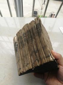 道光木刻巾箱本,试律大观八厚本