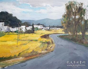 【憬悟文化】中央美院车行老师精品风景油画作品7,憬悟文化作品均来自