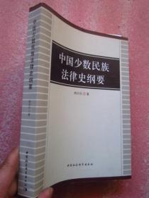 《中国少数民族法律史纲要》16开533页厚本   全新