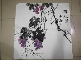 [3451李唐花鸟画一幅