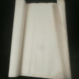 【老宣纸】  八九十年代三尺陈年老宣纸13张,多斑点