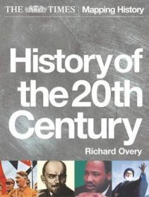 英国原版 英文 英语 The Times History of the 20th Century 泰晤士 20世纪历史 平装软皮 新版