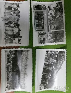 照片22张汶上县1985年首届幼儿运动会