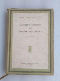 A Short History of Chinese Philosophy 中国哲学史略 英文版