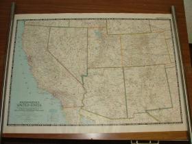 现货 national geographic美国国家地理地图1948年12月Southwestern United States美国西南部